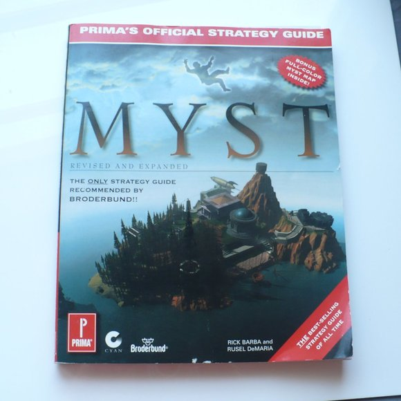 ❤️ MYST Revised & Expanded Edition Official Guide